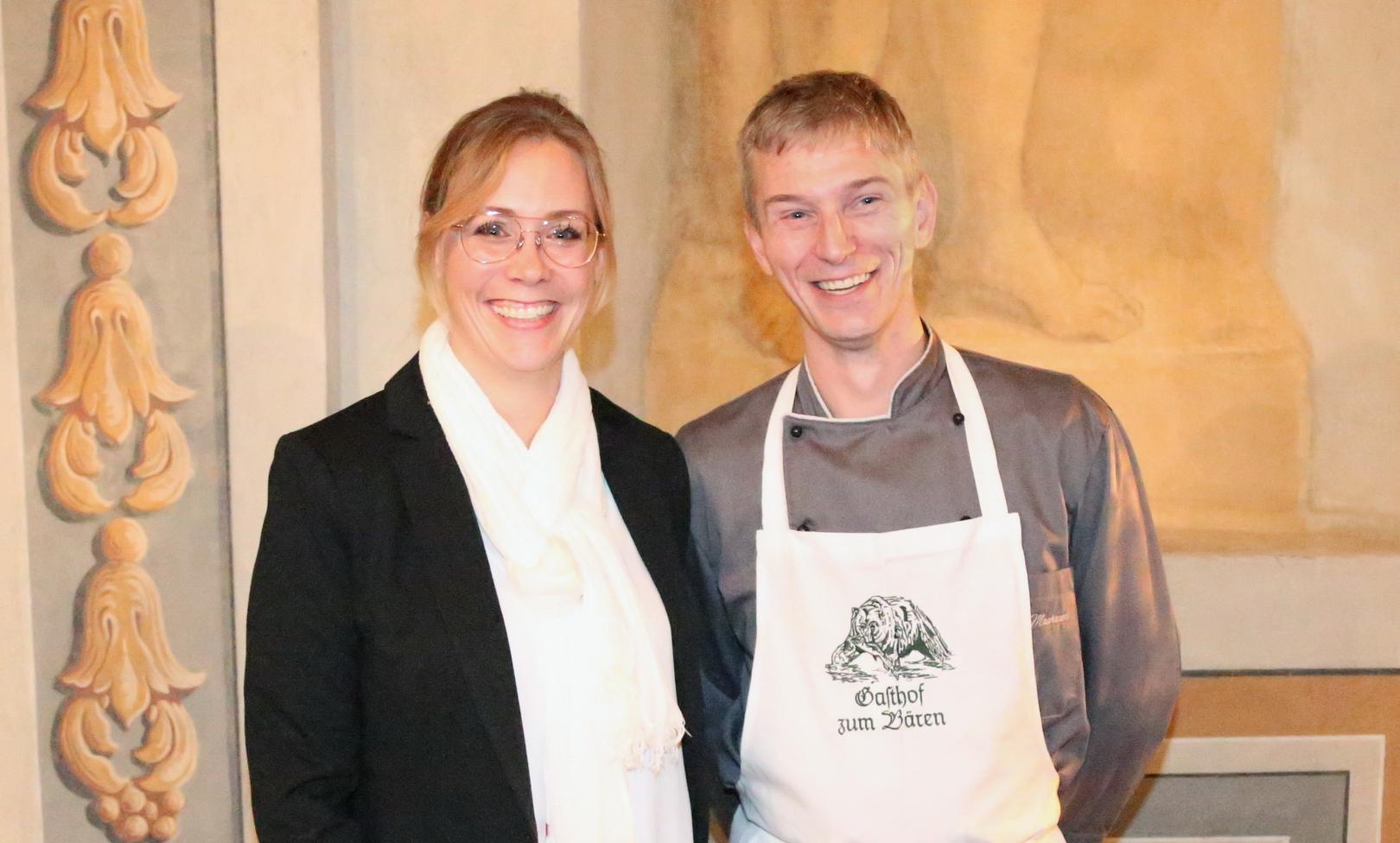 Das Ehepaar Machauer; Foto: Klaus Machauer, Fotostudio Staronwerk