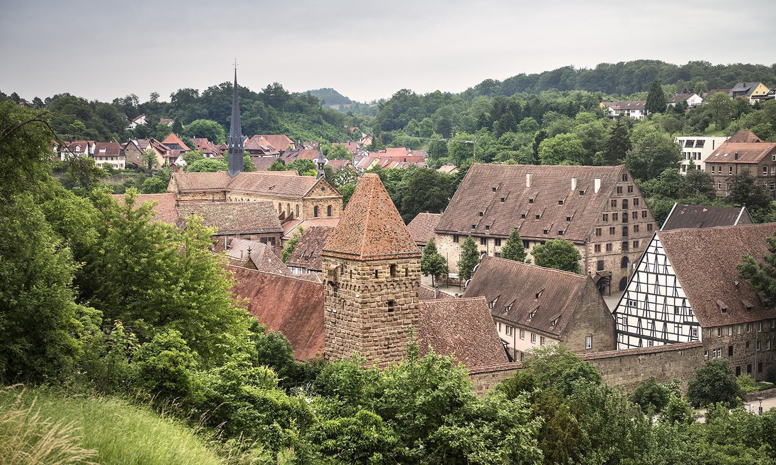 Kloster Maulbronn, Klostermauer und Wirtschaftshöfe; Foto: Staatliche Schlösser und Gärten Baden-Württemberg, Günther Bayerl