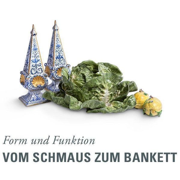 Vom Schmaus zum Bankett - Form und Funktion