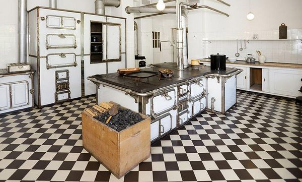 Küche im Schloss Bebenhausen