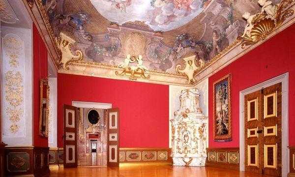 Vorzimmer im Appartement der Markgräfin, Residenzschloss Rastatt